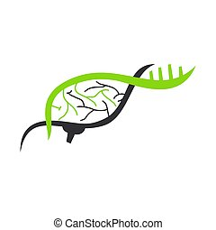 Brain-Logo-Vorlage denken Idee Konzept Brainstorm Power Think Icon