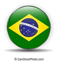 Brasilien-Flagge.