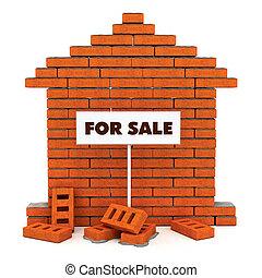 Brick House zum Verkauf