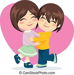 Bruder-Schwester-Liebe