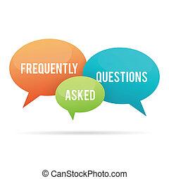 bub, frequently, fragen, fragte, talk