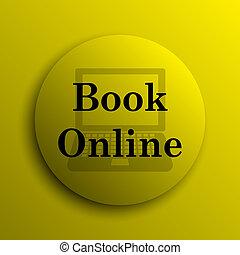 Buchen Sie online Icon