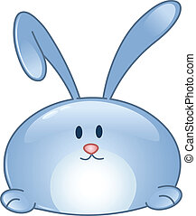 Bunny Cartoon Ikone.