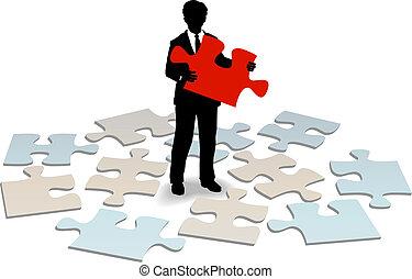 Business Customer Support Antwort Hilfe.