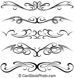 calligraphic, t�towierung
