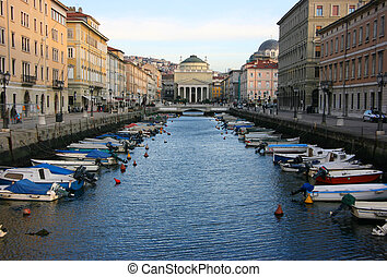 Canal Grande in Tryte