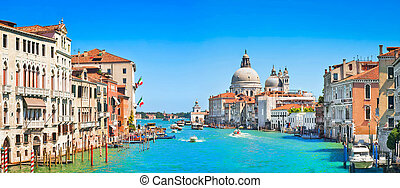 Canal Grande Panorama in Venice