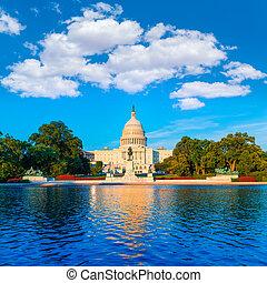 Capitol Building Washington DC US Kongress.