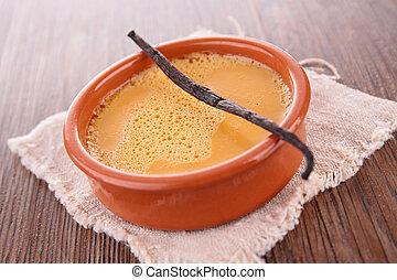 Caramel Sahne Dessert.