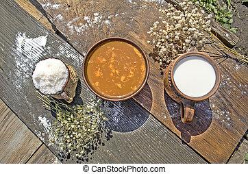 Caramel Sahne Dessert