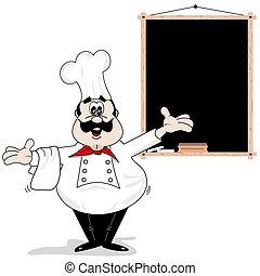 Cartoon Chefkoch