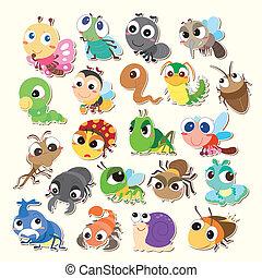 Cartoon-Käfer-Ikone