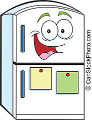 Cartoon Kühlschrank