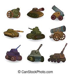 Cartoon-Tank/Kanonenwaffe Icon