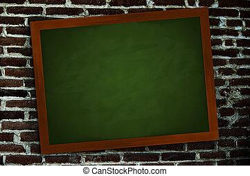 Chalkboard an der Wand