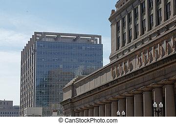 Chicago Gewerkschaftsstation.