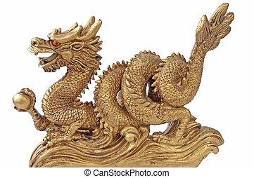 Chinesischer Drache für Glück und Glück