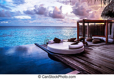 cluburlaub, sandstrand, luxus