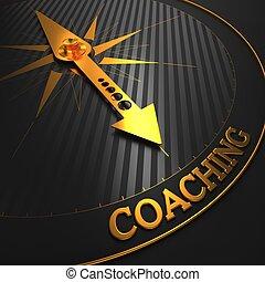 Coaching. Geschäftshintergrund.