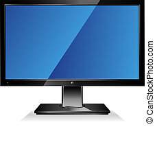 Computer, Großbildschirm