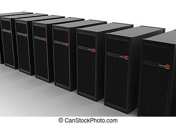 Computer-Server-Netzwerk.