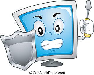 Computermaskottchen