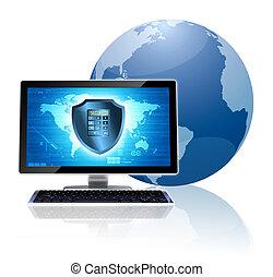 Computersicherheitskonzept