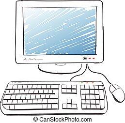Computerzeichnung.