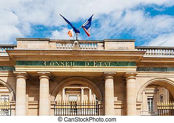 Conseil d'Etat - Staatsrat, Paris