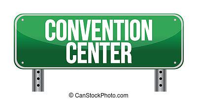 Convention Center Road-Schild