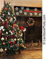 Country-Weihnachtsbaum