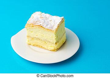 cremeschnitte, italienesche, lieb, torte, creme