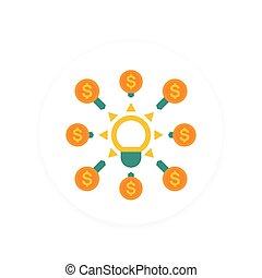 crowdfunding, wohnung, ikone, stil