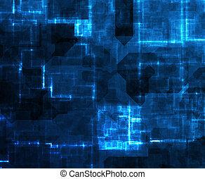 Cyberspace-Technologie abbrechen