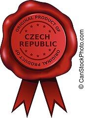 Das Produkt der czechischen Republik.