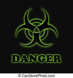 Das Zeichen biologischer Gefahren