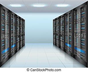 Data Center Hintergrund.