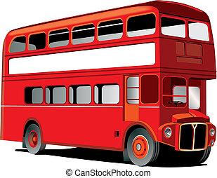 decker, doppelgänger, london, bus