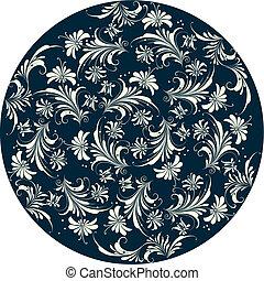 Dekorativer Blumen Hintergrund