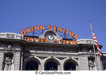 Denver Gewerkschaftsstation.