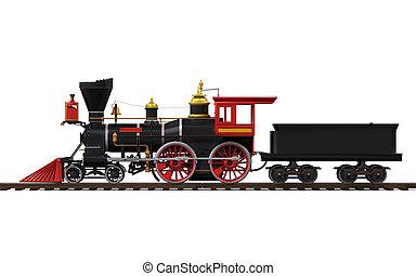 Der alte Lokzug
