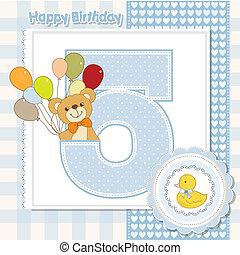 Der fünfte Jahrestag des Geburtstags