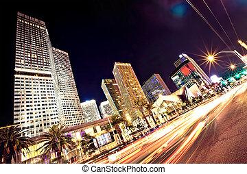 Der Las Vegas-Strip in der Nacht
