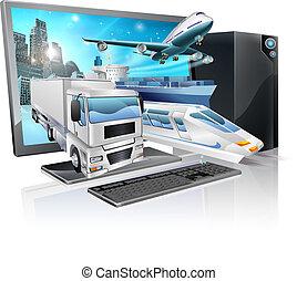 Desktop PC Logistikkonzept