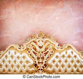 detail., inneneinrichtung, luxus, möbel