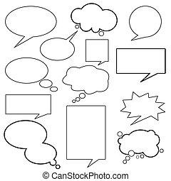 Dialog, Ballon, Nachricht