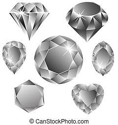 Diamantensammlung.