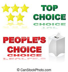 Die beste Wahl.