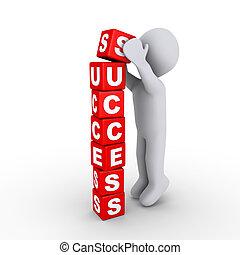 Die Erfolgsblöcke bauen.