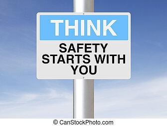 Die Sicherheit beginnt mit Ihnen.